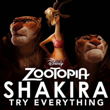 Shakira (Try Everything)
